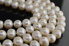 80 Inch / 200 cm 10-11 mm Freshwater Pearl Necklace