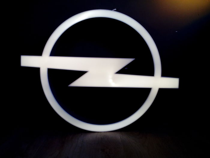Opel - Dealersign / Lightbox - lichtreclame - LED