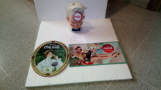 Lot of 3 Coca Cola products - 20th century