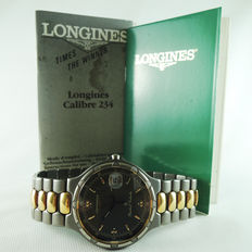 Longines 4032 Conquest Date - men's wrist watch - 1993s