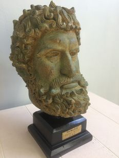 Bust Greek Olympic champion