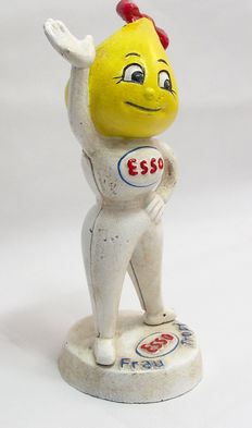 Esso Oil Mrs Frau Money Box