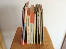 Lot with 9 catalogues – Japan and China – art and antiques