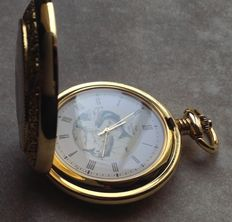 Pocket watch the Franklin Mint National Fish and Wildlife Foundation - 80's