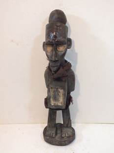 Old, rare sculpture - Yome - DR Congo - Africa