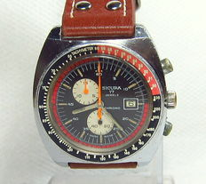 Sicura Chronograph Men's Watch-Vintage-1970s