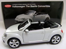 Kyosho - Scale 1/18 – Volkswagen The Beetle Convertible - White