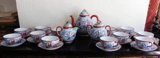 Fine porcelain tea service from Japan - 27 pieces - Japan - First half of the 20th century