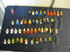 Assorted - 56 Lego mini figures + animals