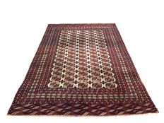 Handmade oriental rug: Real antique Tekke Boukhara 325 x 215 cm around 1930!!