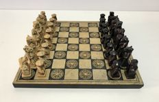 Chess - Laos sacred stone