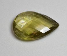 Colour changing diaspore - 20.90 ct
