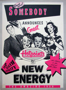 Anonymous - New energy, the amazing 1950 - ca. 1970