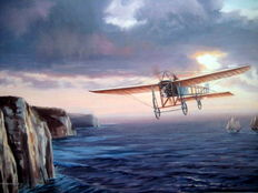"""The Channel Crossing"" Louis Bleriot 1909 - (Great Moments in Aviation)"