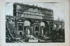 Giovanni Battista Piranesi (1720 - 1778) - Vista del Monumento erigido a Tito Vespasiano - after 1766 - 19th century impression