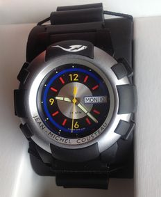 Modaine Jean-Michel Cousteau - diving wristwatch - 80's - in fact new and unworn !