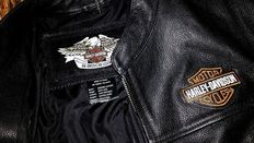 Harley-Davidson motorcycle - original leather jacket