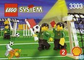 Lego 3303 Field Accessories (Goals and Linesmen)