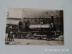 lot of 55 cards on the railroad