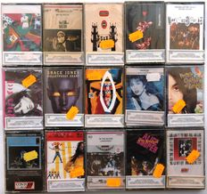 Grand Cassette Lot of 15 mint and Unopened Cassettes