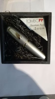 """Tombow 848 p fountain pen - called """"The Egg""""."""
