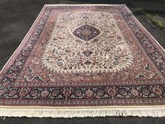 Very large Indo Isfahan! Very valuable! Investment! Oriental carpet, hand-knotted