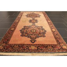 Exclusive hand-knotted Persian carpet collector's carpet authentic Bidjar 200x100cm Tappeto Tapis Tapijt carpet