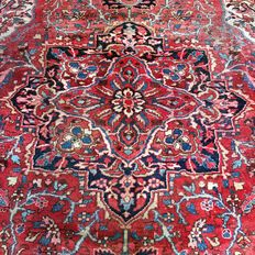 Splendid Persian rug: Antique Heriz 326 x 230 cm - Iran - ca. 1930