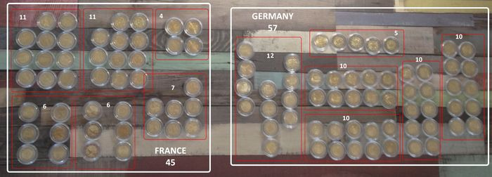 Europe (France & Germany) - 2 Euro 'Commemorative' 2006/2015 (lot of 102 coins)