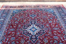 Original & Beautiful Iran Persia Kachan Signed Kachan mohamad al Jordi handknotted 350x250 cm around 1995