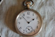 "Beautiful ""WALTHAM USA"" golden pocket watch, early 1900s"
