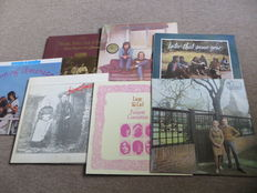 Folkrock, Southern Rock Various Artists - lot of seven (7)  collectable LP's from the eartly seventies