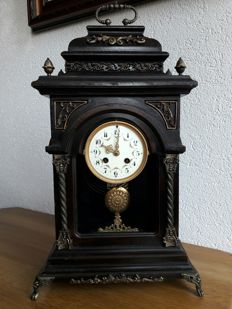 Table clock with Japy Freres movement - approx. 1855
