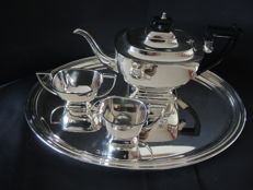 Silver plated 4 piece tea or coffee set by Kempen and Begeer