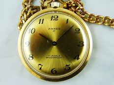 ANCHOR 07-Swiss pocket watch, 1970s