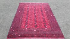 Beautiful old hand-knotted Persian old rug, 227 x 43 cm, Attention! No reserve price, bids start at €1