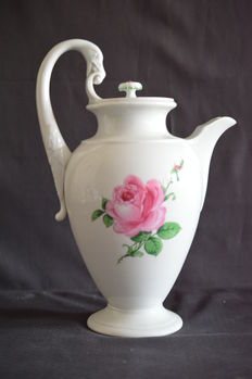 Large coffee pot by Meissen - TOP