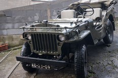 1955 Willys MD / M38A1 Jeep 4x4 Drive