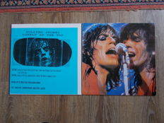 The Rolling Stones Lot of 2 Lp  ,   Lonely at The Top And El Mocambo '77  , Colored Vinyl , Unofficial Releases