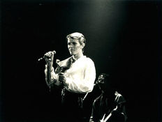 Wolfgang Vollmer  - David Bowie - E-work Cologne - 1978