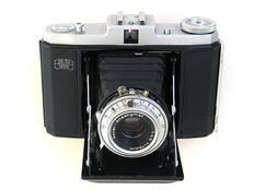 Zeiss Ikon Signal Nettar (518/16) with ever-ready bag