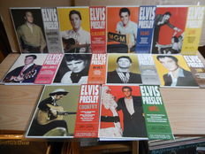 The Elvis Presley Signature Collection 10 x Coloured Vinyl E.P. Set with Picture Sleeves