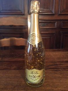 Luxor Pure Gold 24K Brut Champagne - Limited edition - 1 bottle (75cl)