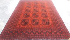 Fine Hand Knotted Balouchi Afghan 2.71 X 1.89 cm