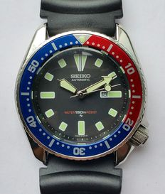 Seiko classic 4205 Pepsi diver's watch from 07-1984