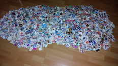 World - collection of approx. 12,000 pieces, various types