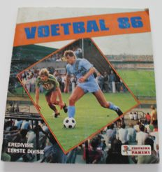 Panini - Voetbal 86 - Complete album - Dutch league.