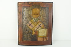 Saint Nicholas the miracle worker and holy bishop of Myra - Russia - 19th century