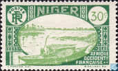 Boat on the Niger