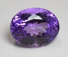 Amethyst - Violet - 13.2 ct - No Reserve Price.